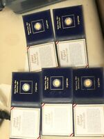 2001 $5 AMERICAN EAGLE GOLD COINS LOTS