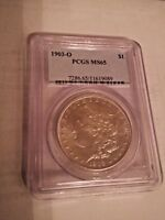 1903 O NEW ORLEANS   MORGAN SILVER DOLLAR MINT STATE 65, KEY DATE $950 VALUE