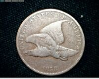 1858 FLYING EAGLE SMALL CENT PENNY SMALL LETTERS  J572