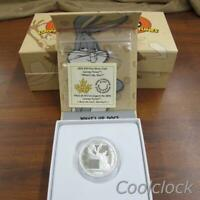 5 PC LOT $10 FINE SILVER COIN ROYAL CANADIAN MINT LOONEY TUN