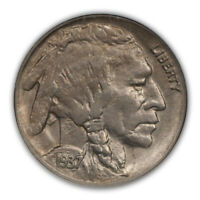 1937-D 3 LEGS BUFFALO NICKEL TYPE 2 5C NGC MINT STATE 61