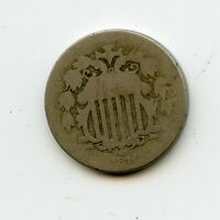 1876 SHIELD NICKEL-CHEAP-