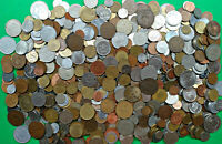 LOT 7.4 LBS MIXED WORLD FOREIGN COINS POUNDS OF FUN     BULK