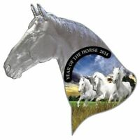NIUE 2014 YEAR OF THE HORSE BLISTER SILVER PROOF COIN