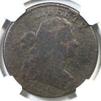 1804 S-266C NGC GOOD DETAILS DRAPED BUST LARGE CENT COIN 1C