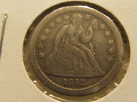 EXTRA FINE  1842-O SEATED DIME  LOW MINTAGE
