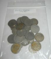 LIBERTY HEAD NICKEL LOT, 24 CIRCULATED COINS, MIXED DATES & MM'S, 1890-1913