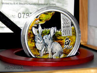 COOK ISLANDS 2011 5$ LUNAR THE YEAR OF THE RABBIT SILVER PRO