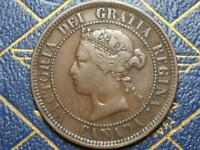 1886 CANADIAN LARGE PENNY QUEEN VICTORIA LOT B6
