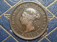 1888 CANADIAN LARGE PENNY QUEEN VICTORIA LOT B9