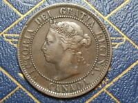 1888 CANADIAN LARGE PENNY QUEEN VICTORIA LOT B10