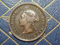 1888 CANADIAN LARGE PENNY QUEEN VICTORIA LOT B11