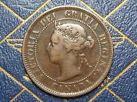 1894 CANADIAN LARGE PENNY QUEEN VICTORIA LOT B23