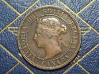 1897 CANADIAN LARGE PENNY QUEEN VICTORIA LOT B29