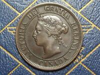 1900H CANADIAN LARGE PENNY QUEEN VICTORIA LOT B35
