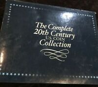 COMPLETE 20TH CENTURY US COIN COLLECTION 3 NO RESERVE