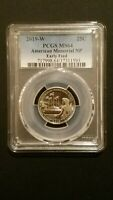 2019 W AMERICAN MEMORIAL NP QUARTER PCGS MS64 EARLY FIND  20