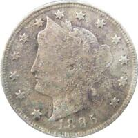 1895 - USA - LIBERTY - FIVE CENT COIN - NR