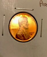 LY  PROOF 1969 S ERROR DOUBLED DIE OBVERSE LINCOLN CENT