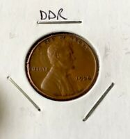 1936 LINCOLN WHEAT PENNY DDR   DOUBLE DIE REVERSE ERROR