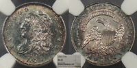 1834 CAPPED BUST 5 CENT SILVER NGC MINT STATE 64