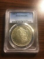 1880-S MORGAN SILVER DOLLAR $1 PCGS MINT STATE 63 PROOFLIKE PL PROOF LIKE PROOF-LIKE