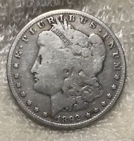 1892-O MORGAN SILVER DOLLAR G COIN SHOWN 92 SHIPPING $ ON FIRST COIN ONLY