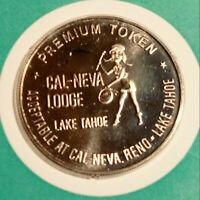 CLUB CAL NEVA GAMING TOKEN BRONZE PROOF CA. 1969