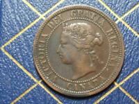 1881 CANADIAN LARGE PENNY QUEEN VICTORIA LOT B5