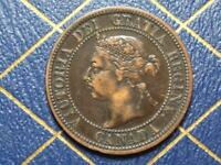 1892 CANADIAN LARGE PENNY QUEEN VICTORIA LOT B15