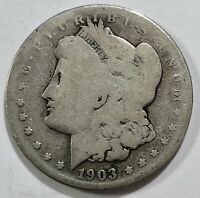 1903 S MORGAN SILVER DOLLAR CHOICE -  KEY DATE COIN 1