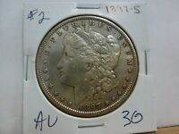 1897-S MORGAN SILVER DOLLAR 2