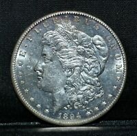 1894-S MORGAN SILVER DOLLAR  UNCIRCULATED UNC  $1  DATE TRUSTED