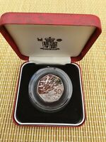 ROYAL MINT  1994 D DAY  FIFTY PENCE 50P  SILVER PROOF CASED