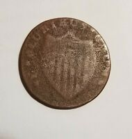 NY JERSEY COLONIAL STATE COPPER COIN