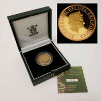 2003 UNITED KINGDOM 2 POUNDS 22KT RED/YELLOW GOLD DOUBLE HEL