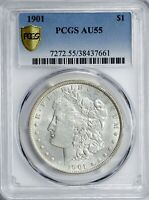 1901 MORGAN DOLLAR PCGS AU55 WOW LIST VAM-20  FROM THE EASTLAKE COLLECTION