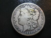 1896-S MORGAN SILVER DOLLAR BETTER DATE COIN WE COMBINE ON SHIPPING
