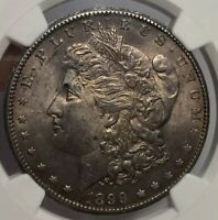 1899-O MORGAN SILVER DOLLAR NGC MINT STATE 62 SUPER ATTRACTIVE ROSE PATINA EYE APPEAL
