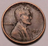 1927 D LINCOLN WHEAT CENT PENNY - NOT STOCK PHOTOS - -  SHIPS FREE