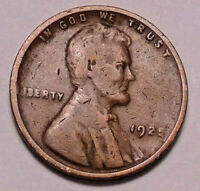 1925 P LINCOLN WHEAT CENT PENNY - NOT STOCK PHOTOS - SHIPS FREE