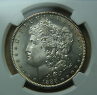 1888-S MORGAN SILVER DOLLAR - R DATE - NGC MINT STATE 64