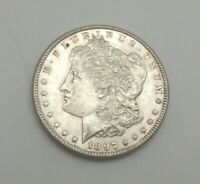 1897-P US MINT SILVER 90 MORGAN DOLLAR M860