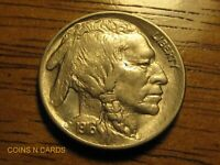 1916 5C BUFFALO NICKEL TWO FEATHERS ERROR UNCIRCULATED FULL