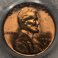 1954-D LINCOLN WHEAT CENT PENNY PCGS MINT STATE 65 RD