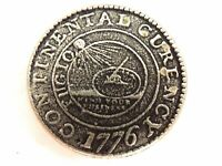 1776 CONTINENTAL CURRENCY ONE DOLLAR NON MAGNETIC COIN