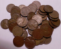 1950P & D 1951P D & S  1952D & S 1953D & S - LOT OF 9 LINCOLN WHEAT CENT ROLLS