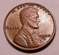 1952 D LINCOLN WHEAT CENT PENNY -   >BETTER GRADE- WHEATS<  SHIPS FREE