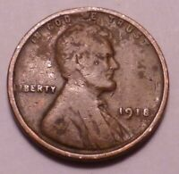 1918 P LINCOLN WHEAT CENT CENT - NOT STOCK PHOTOS -- SHIPS FREE - FILLER<