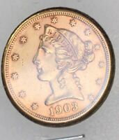 1903 $5 GOLD LIBERTY HEAD MS    LOOKS PL RARITY AMAZING COIN